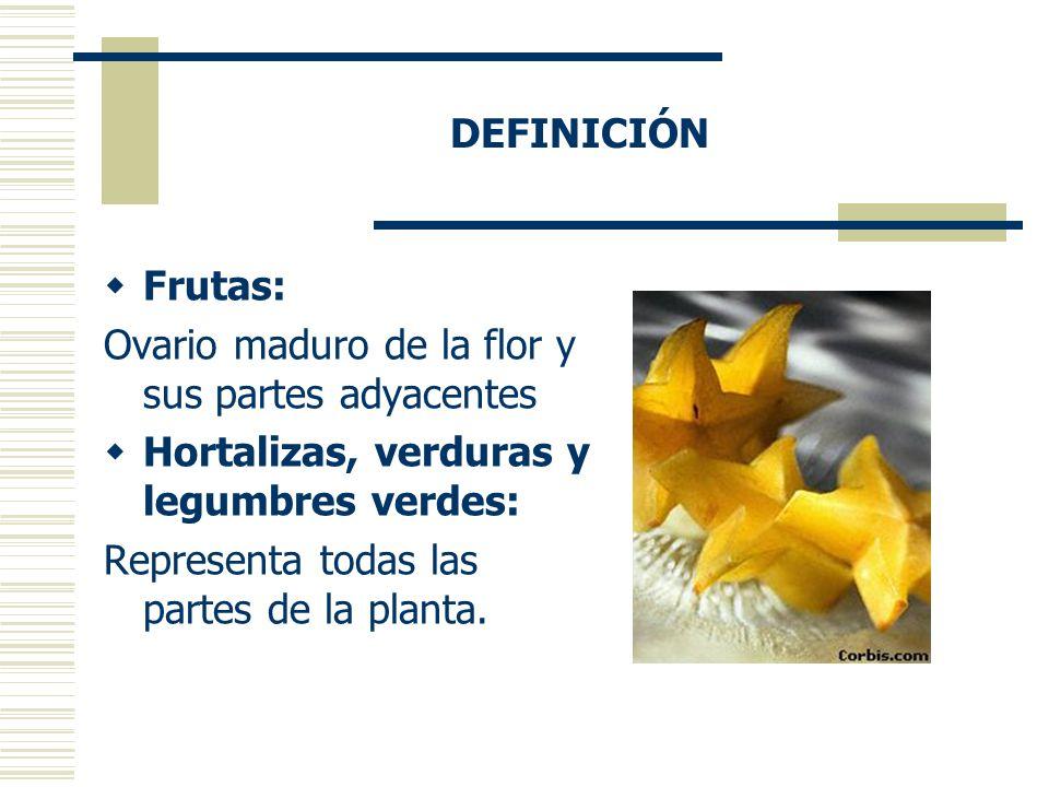 Las frutas y hortalizas  ppt video online descargar