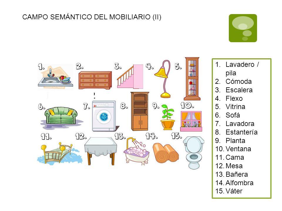 CAMPOS SEMNTICOS VOCABULARIO DE LA ALIMENTACIN  ppt