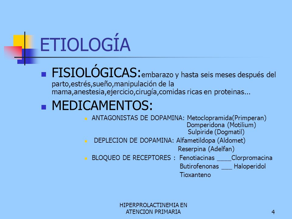 HIPERPROLACTINEMIA EN ATENCION PRIMARIA  ppt video online