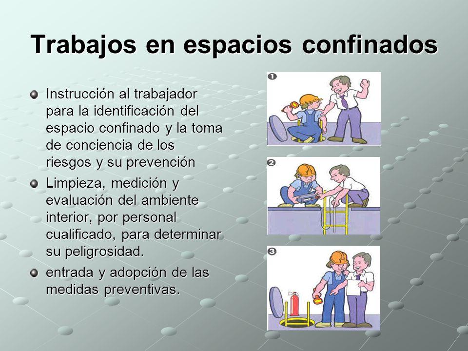 TRABAJOS EN ESPACIOS CONFINADOS  ppt video online descargar