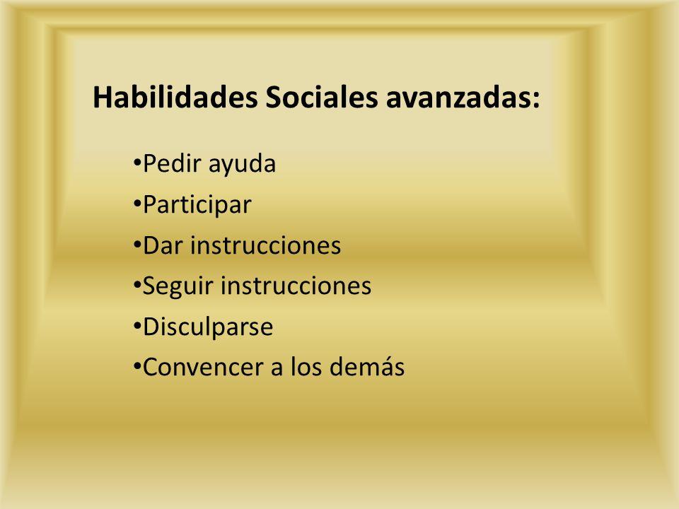 LAS HABILIDADES SOCIALES  ppt video online descargar