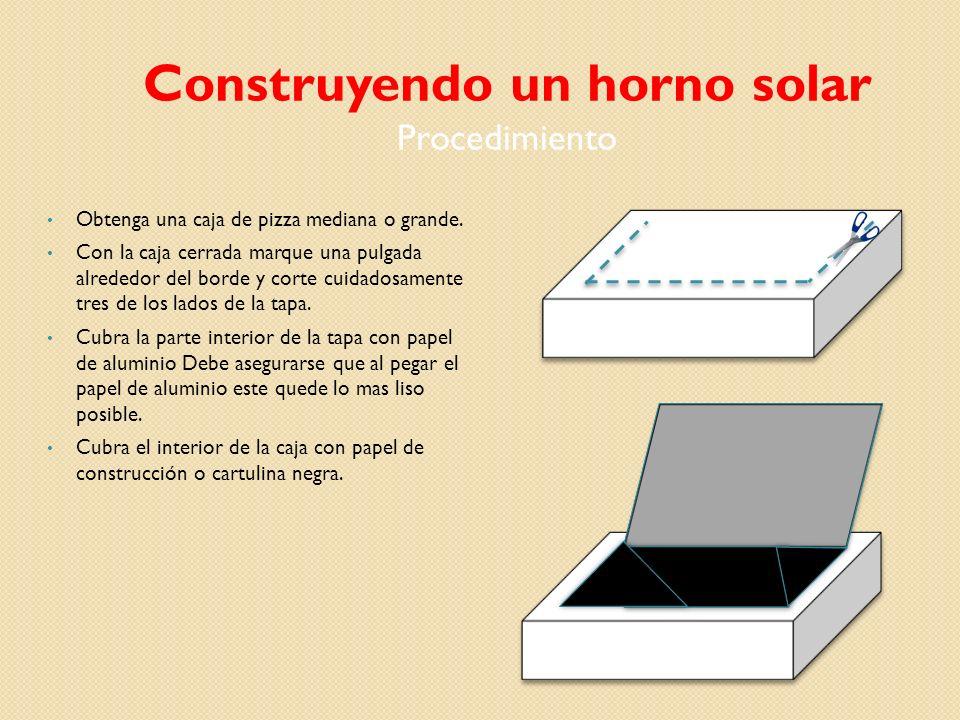 Construccin de un horno solar  ppt video online descargar