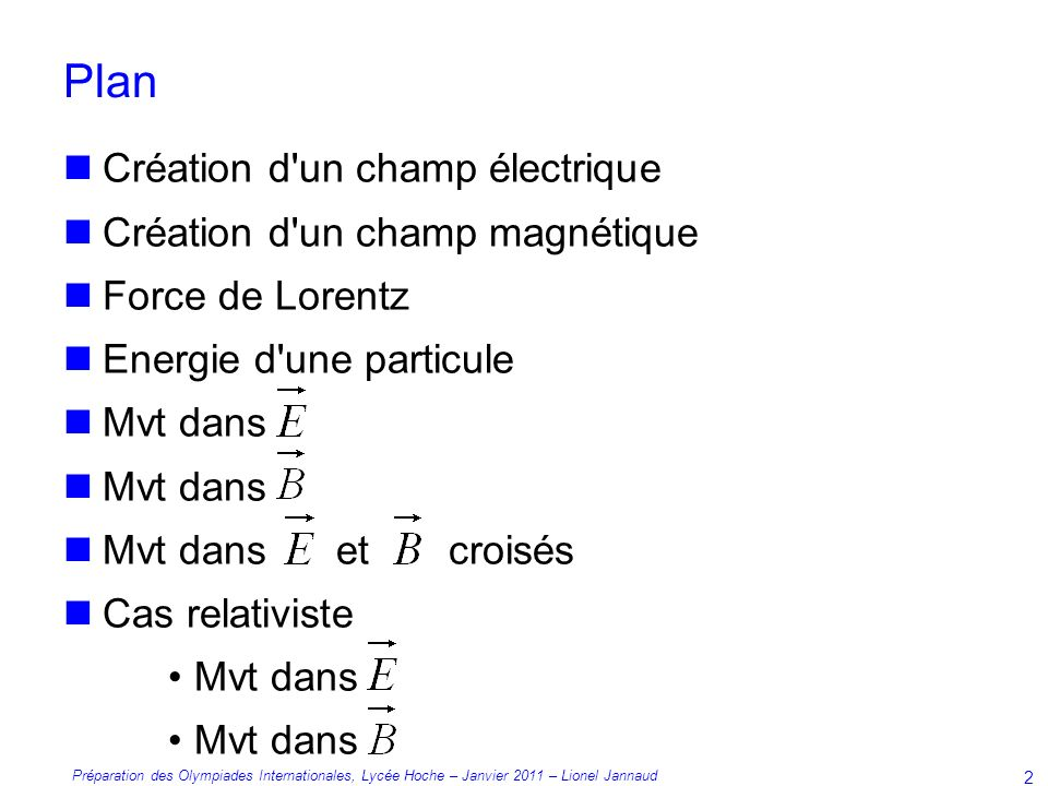 Plan Cration dun champ lectrique Cration dun champ magntique  ppt video online tlcharger