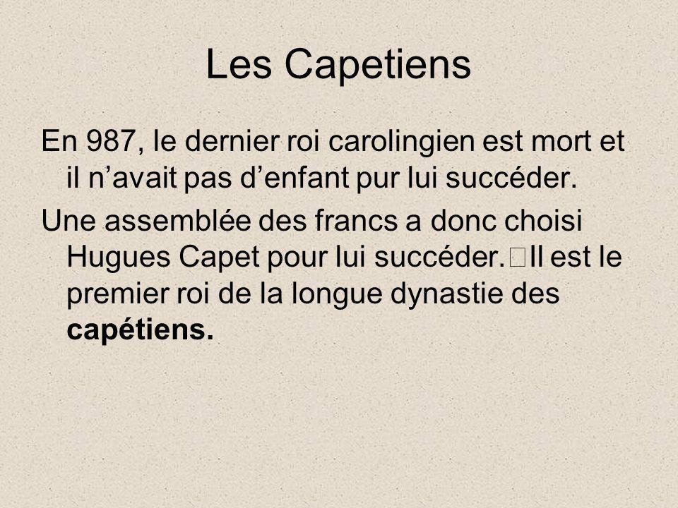 """Résultat de recherche d'images pour """"les Capétiens"""""""