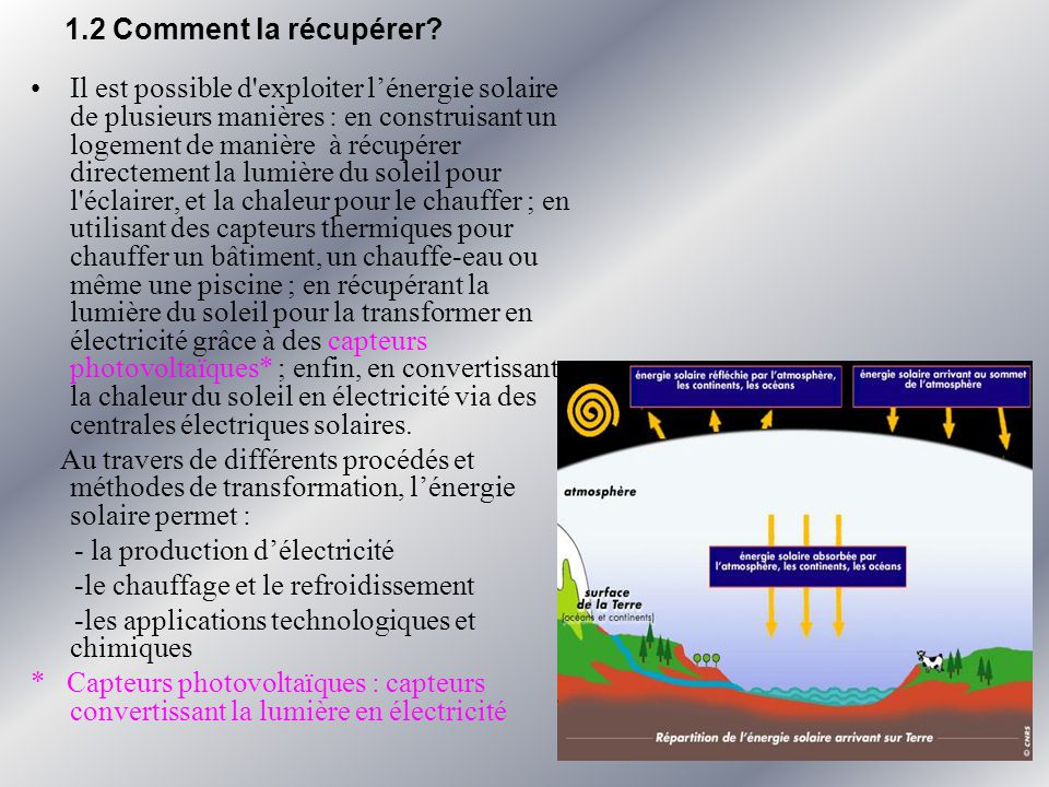 La rcupration de lnergie solaire  ppt video online tlcharger