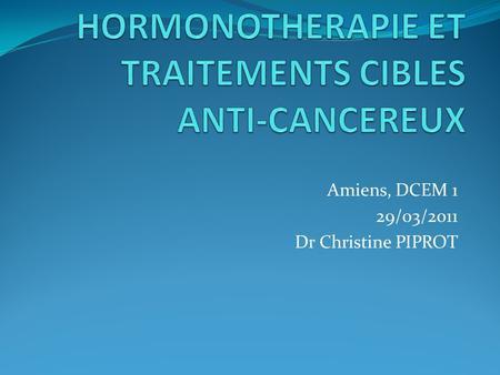 Chimiothrapie et traitements adjuvants  ppt video online tlcharger