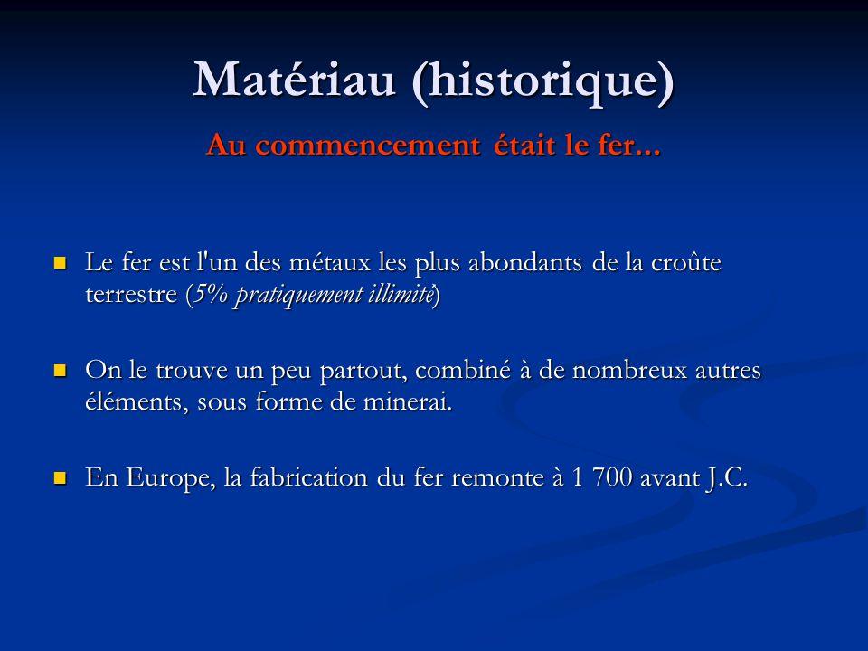 materiau historique