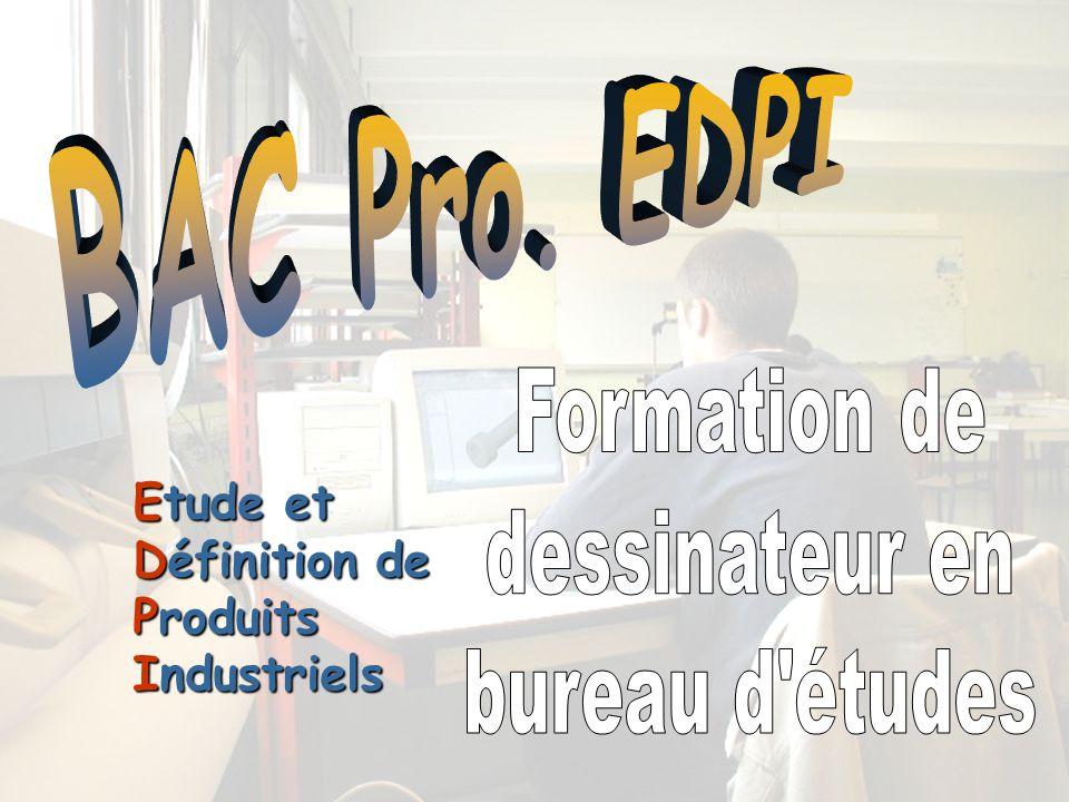BAC Pro EDPI Formation De Dessinateur En Bureau Dtudes