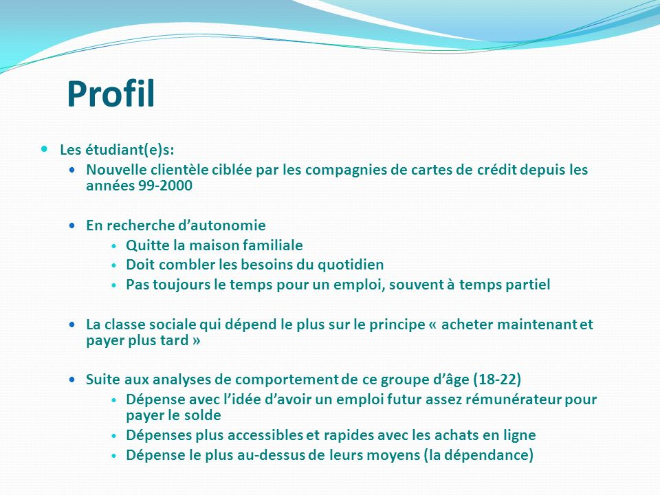 Quest Ce Quune Carte De Crdit Ppt Video Online