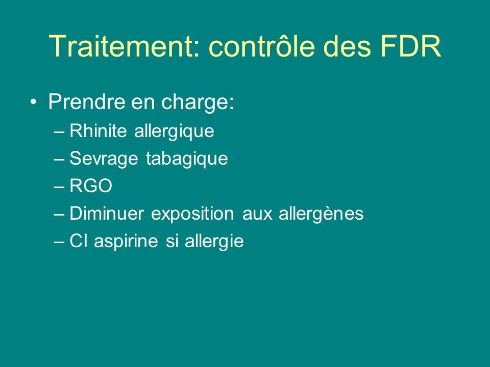 Asthme et son traitement  ppt video online tlcharger