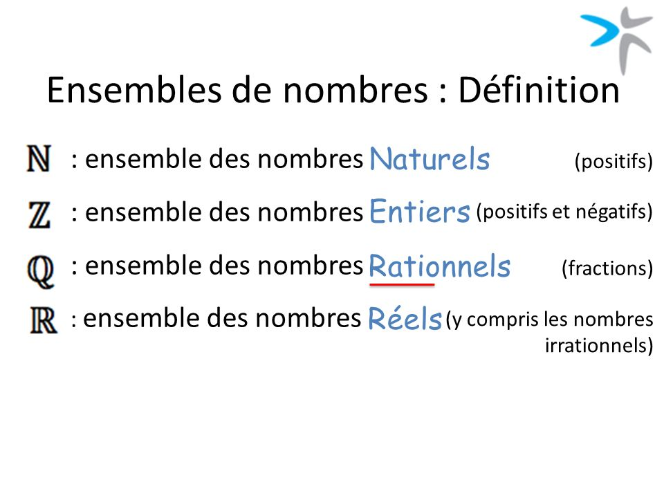 Ensembles de Nombres 1MPES4  ppt video online tlcharger