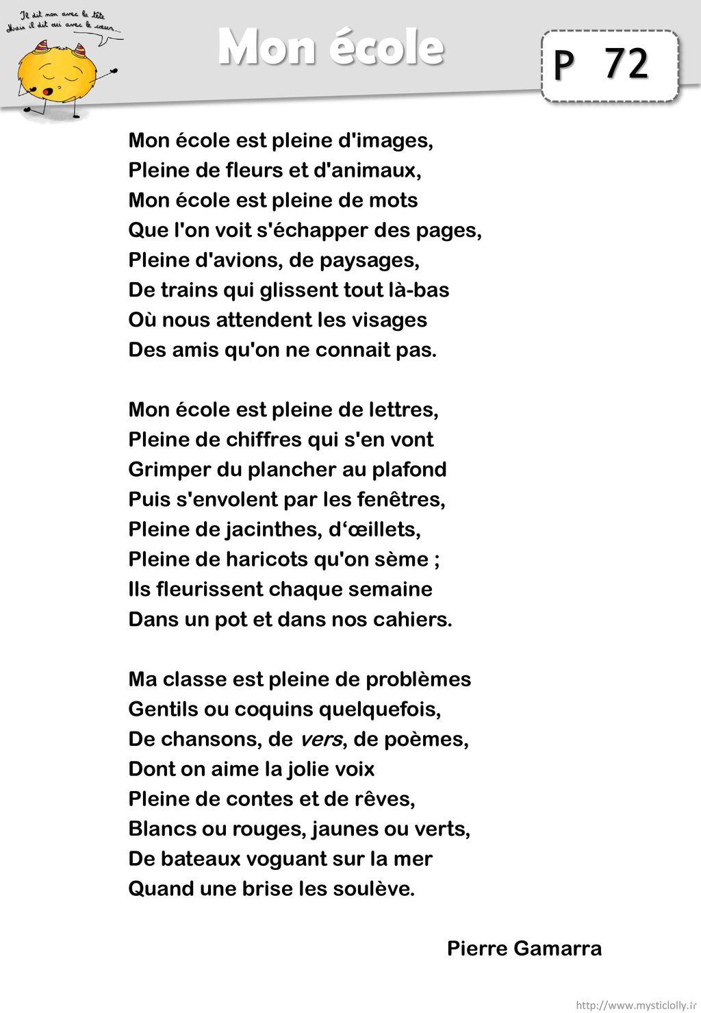 Poesie Mon Ecole Est Plein D Images : poesie, ecole, plein, images, Cœur…, Télécharger