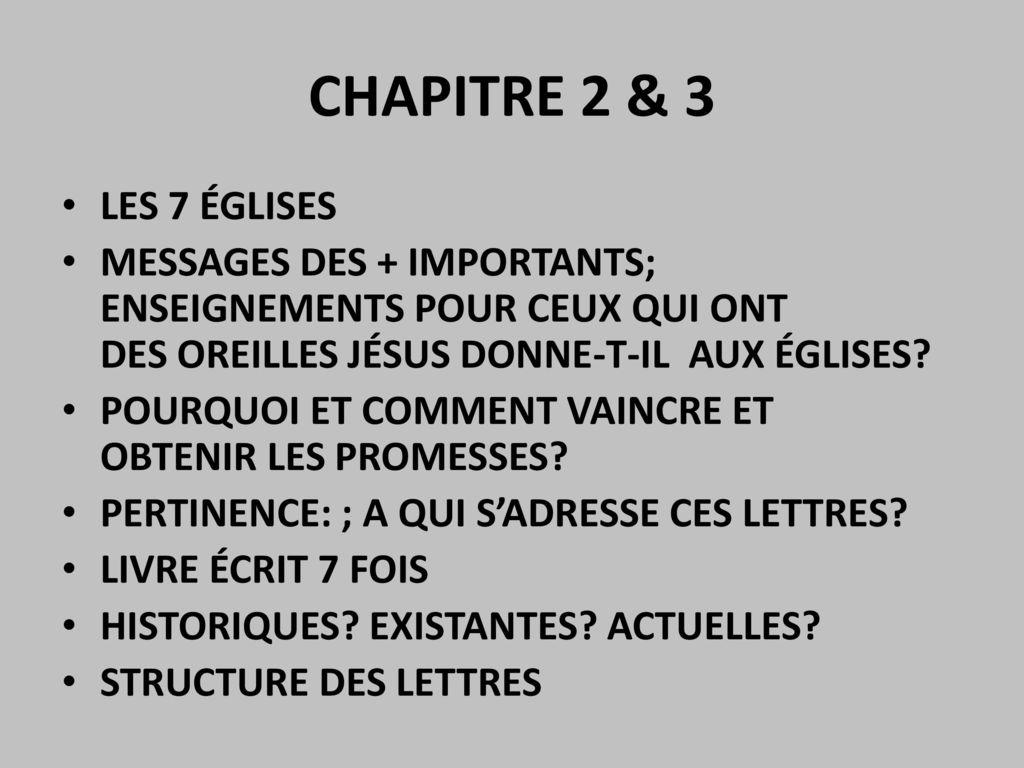 Apocalypse Ou La Revelation De Jesus Christ