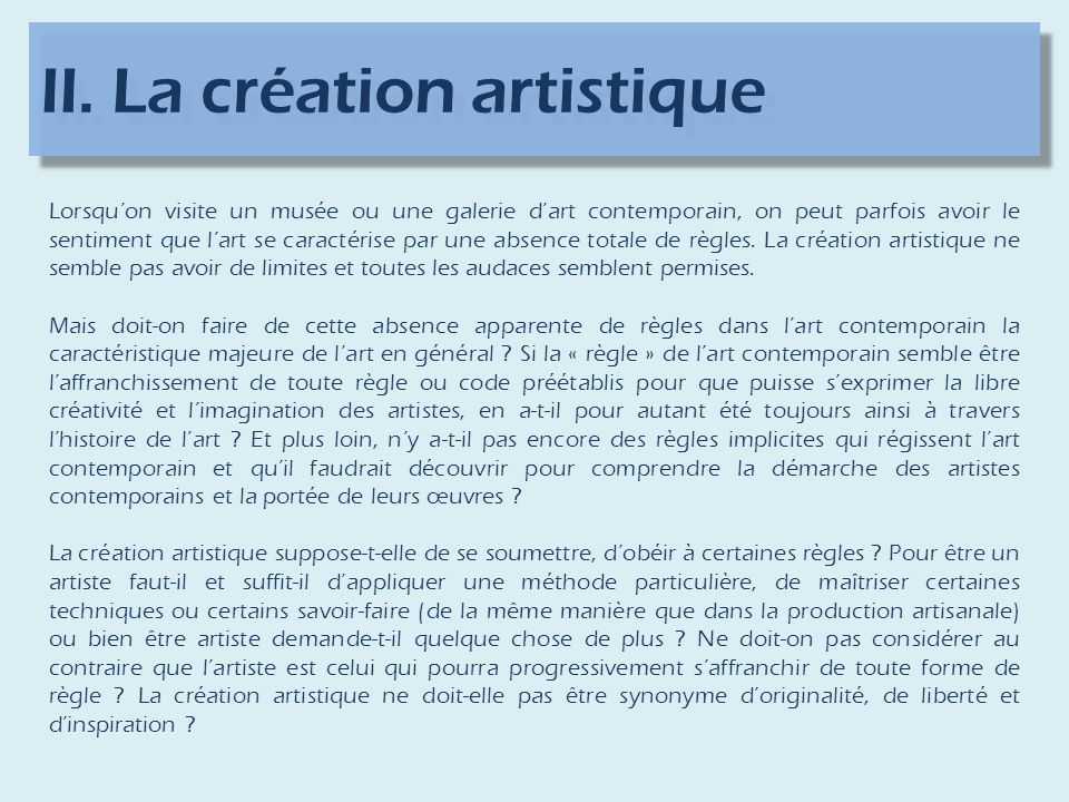 Synonyme Production Artistique