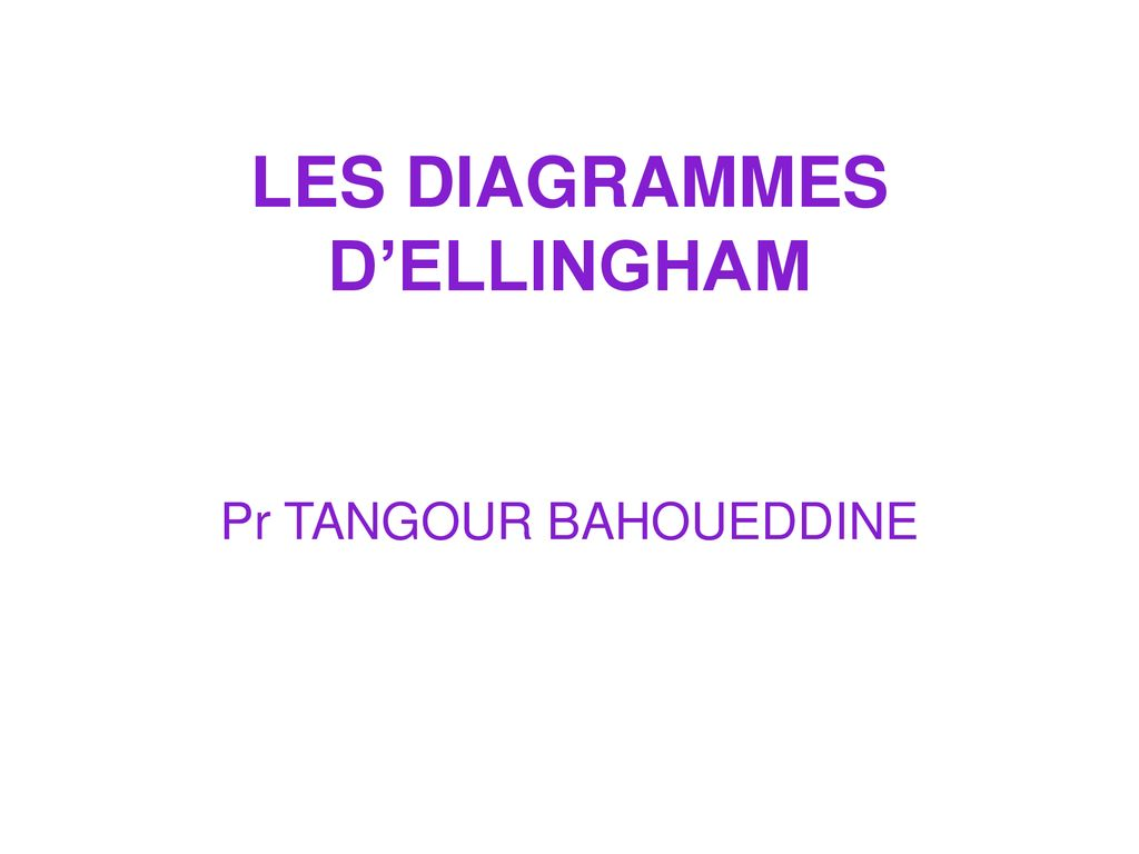 hight resolution of les diagrammes d ellingham