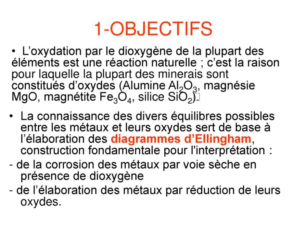 medium resolution of les diagrammes d ellingham 2 1 objectifs