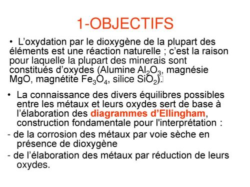 small resolution of les diagrammes d ellingham 2 1 objectifs