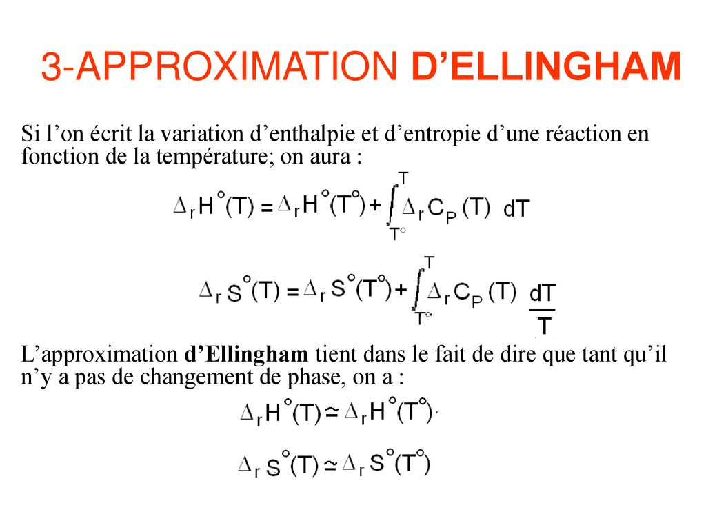 hight resolution of 3 approximation d ellingham