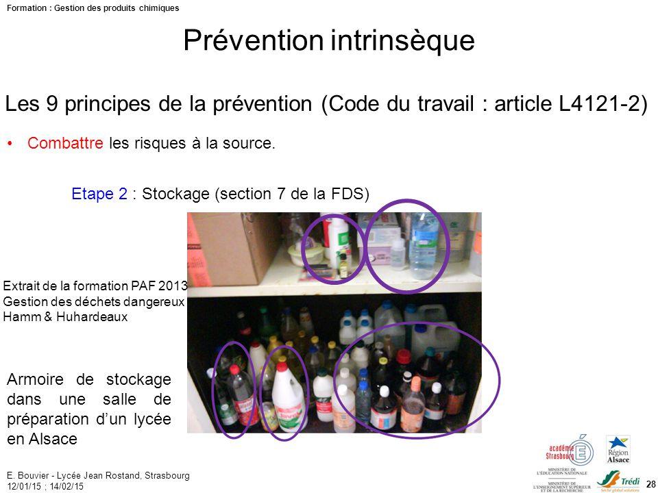 Formation PAF Gestion Des Produits Chimiques Ppt