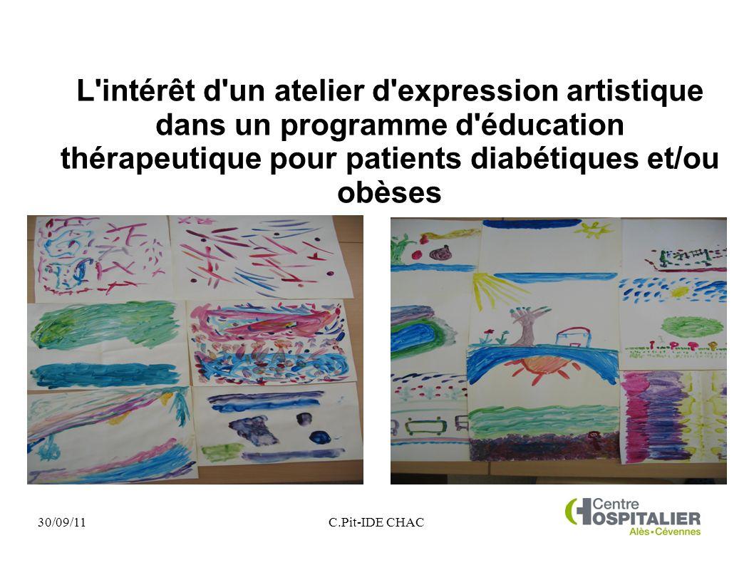 l interet d un atelier d expression artistique dans un programme d education therapeutique pour patients