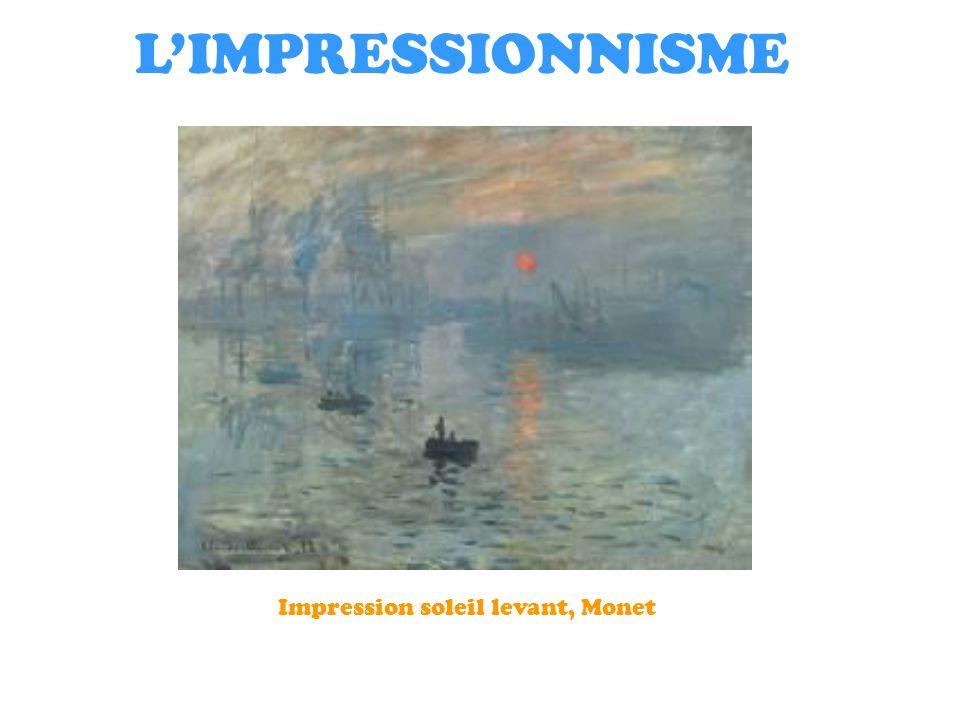 1 l impressionnisme impression soleil levant monet