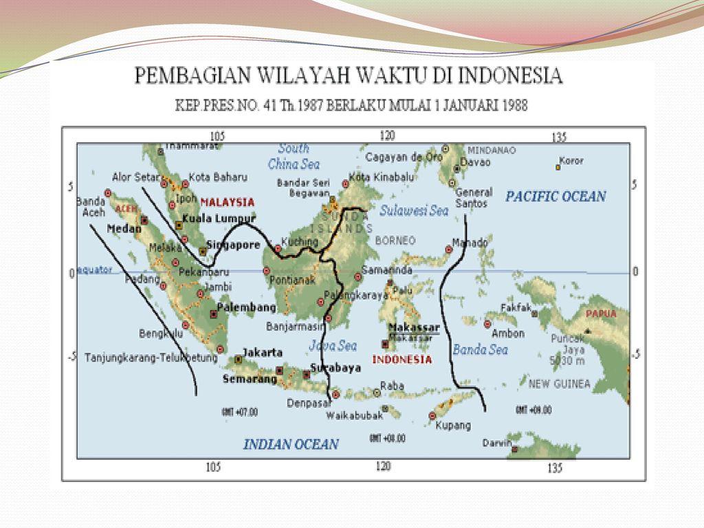 Pada prinsipnya membuat animasi powerpoint zoom peta adalah dengan menumpuk. Pembagian Wilayah Waktu Di Indonesia Ppt Download