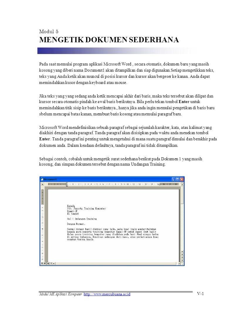 Contoh Program Yang Digunakan Untuk Mengetik Dokumen Adalah : contoh, program, digunakan, untuk, mengetik, dokumen, adalah, MENGETIK, DOKUMEN, SEDERHANA, Download