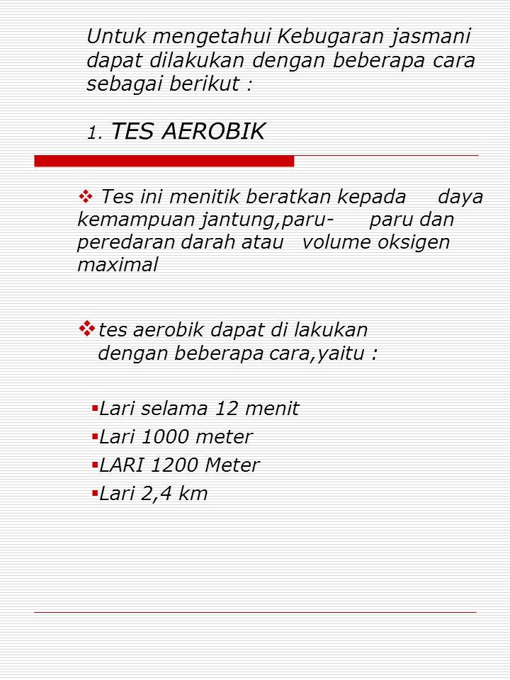 Tes Aerobik Lari Dilakukan Dengan Menempuh Jarak : aerobik, dilakukan, dengan, menempuh, jarak, KEBUGARAN, JASMANI, PHISICAL, FITNESS, Download