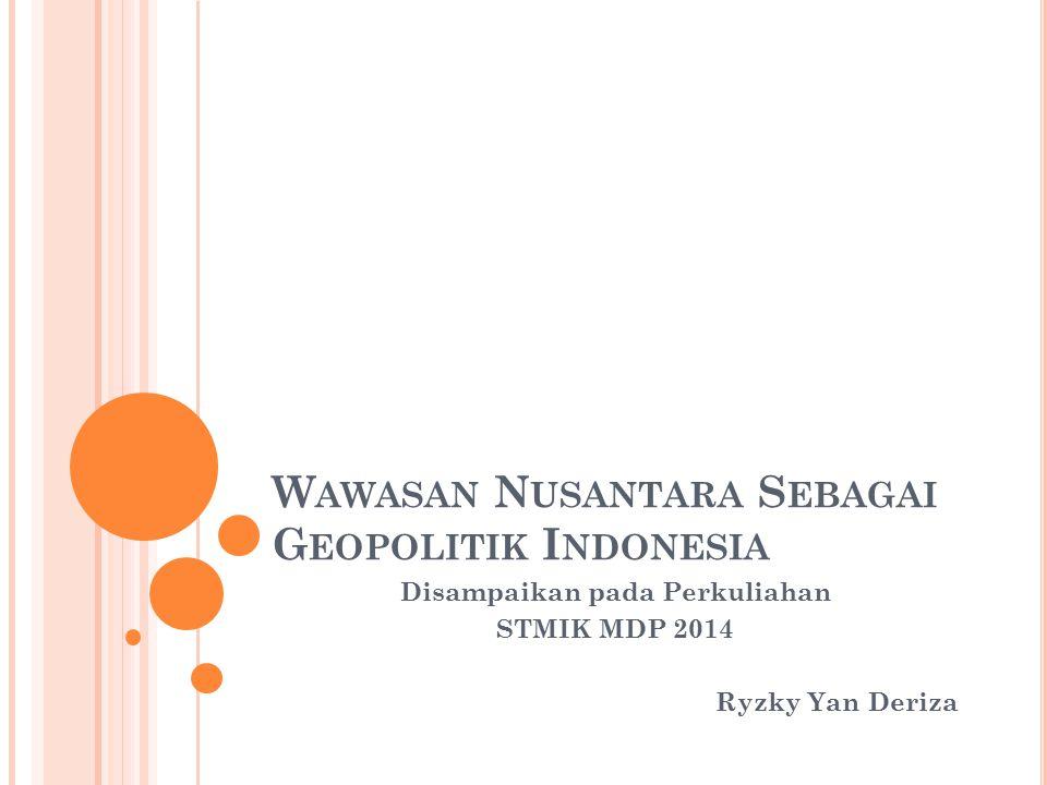 Contoh Makalah Wawasan Nusantara Sebagai Geopolitik Indonesia Download Contoh Lengkap Gratis