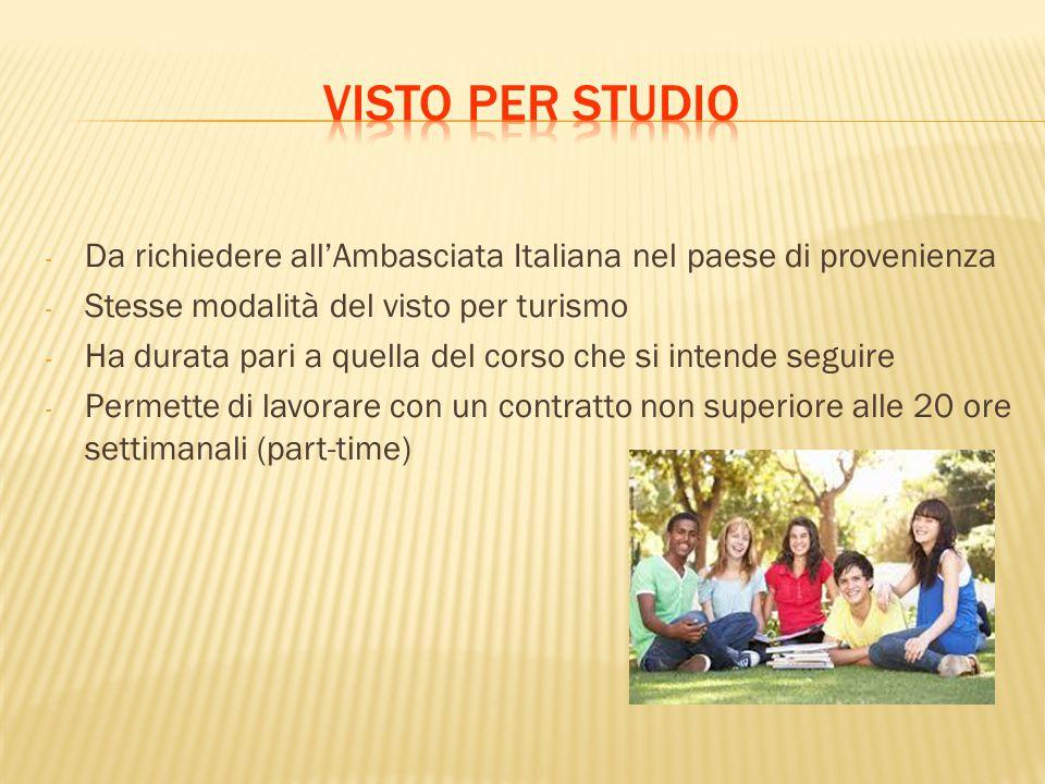 Informazioni sullingresso in Italia  ppt scaricare