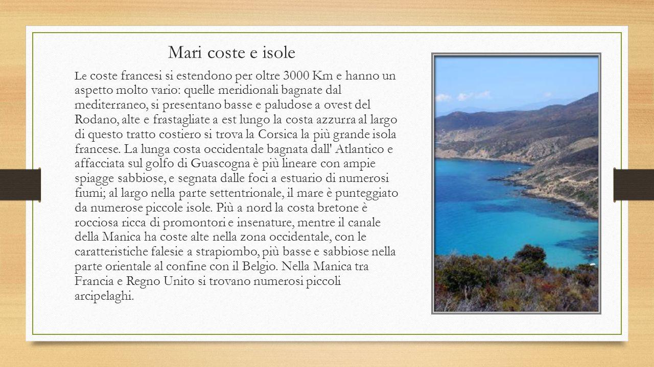 La Francia Simone Co Cartina Territorio Fiumi e laghi