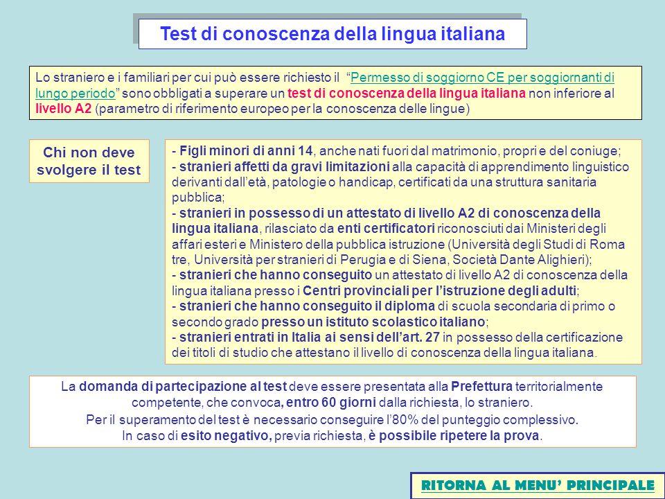 Emejing Carta Di Soggiorno Ce Contemporary - House Interior ...