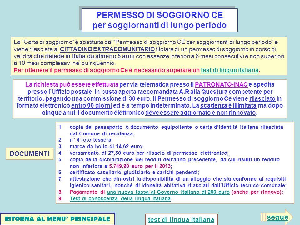 Scaricare Permesso Di Soggiorno Самые необходимые документы в Италии ...