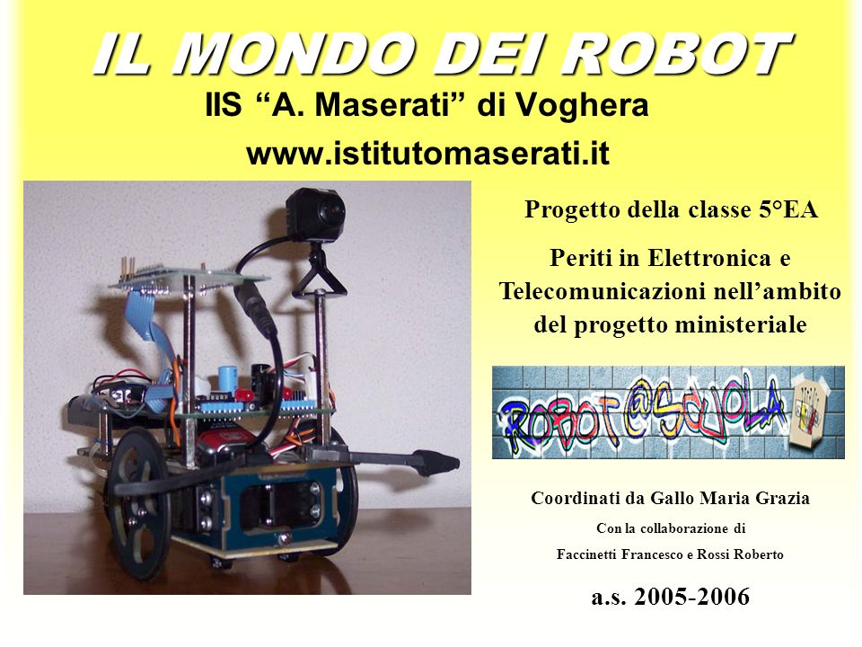 IIS A Maserati di Voghera  ppt scaricare