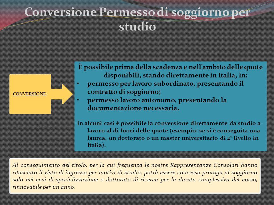 Amazing Permesso Soggiorno Per Studio Galleries ...