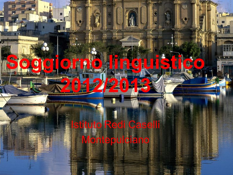 Soggiorno linguistico 2012 ppt scaricare