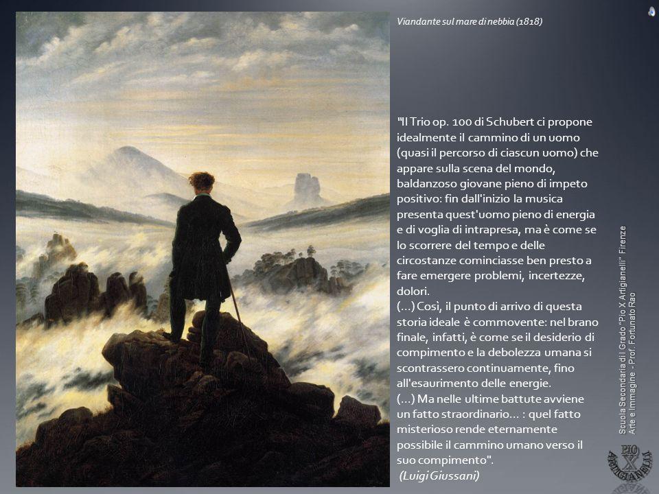 Il Romanticismo Il senso dellInfinito ed il paesaggio