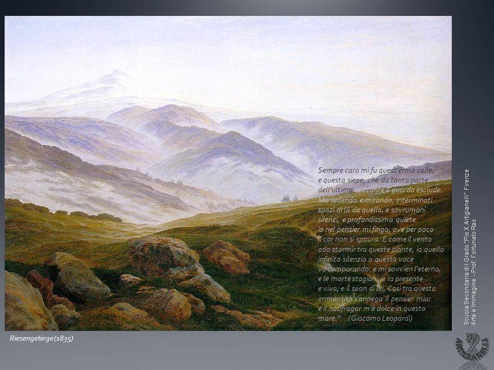 Il Romanticismo Il senso dellInfinito ed il paesaggio contemplato  ppt video online scaricare