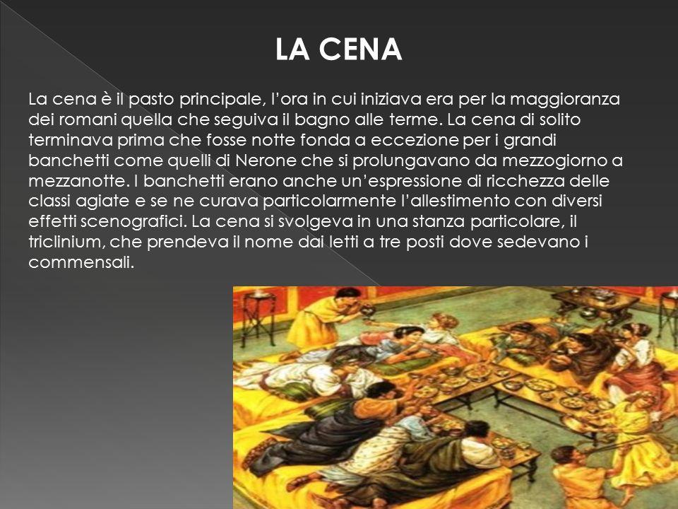 Alimenti consumati nellantica Roma  ppt scaricare