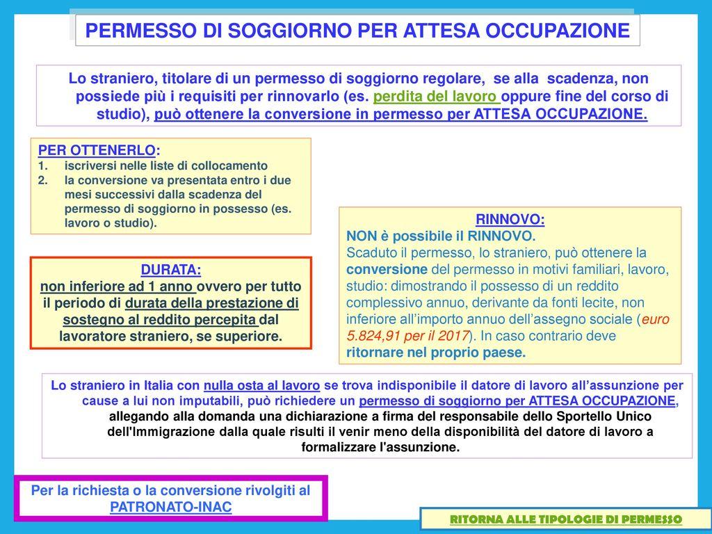 Best Reddito Per Carta Soggiorno Gallery - House Interior ...