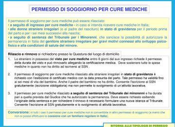 Emejing Permessi Di Soggiorno Online Contemporary - House Interior ...