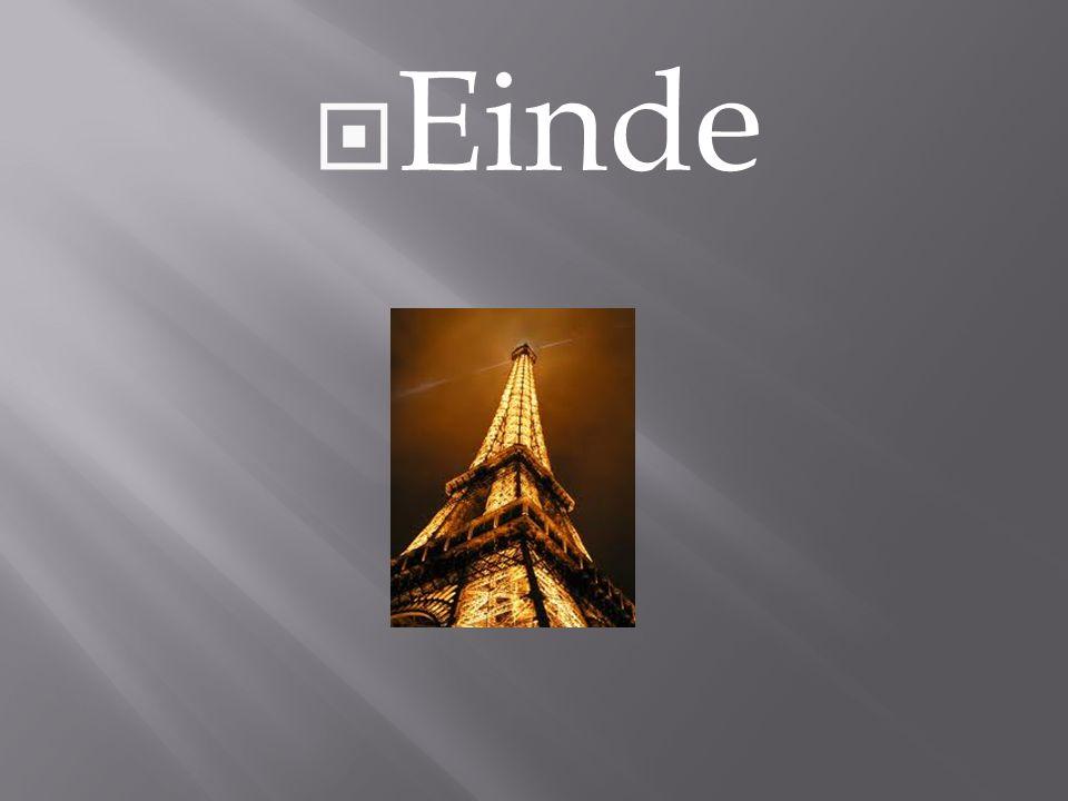 De Eiffeltoren Van Sean W Ppt Download