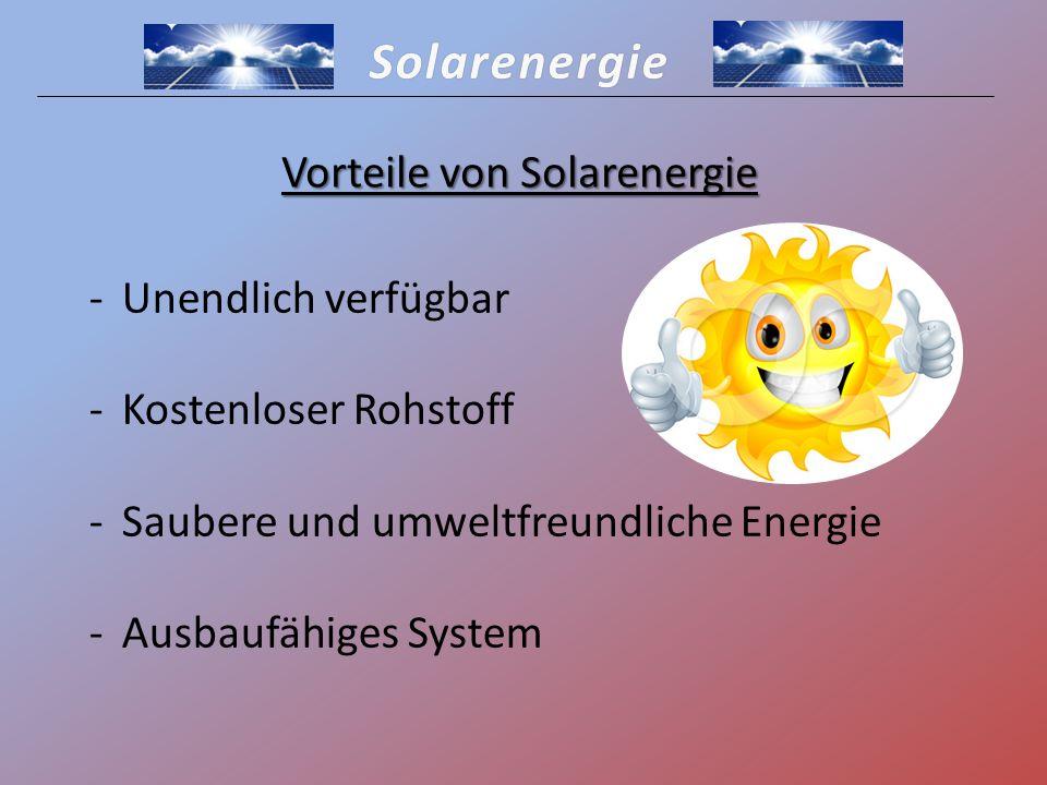 Vorteile Solarenergie solaranlagen vorteile nachteile und kosten : solarenergie ppt