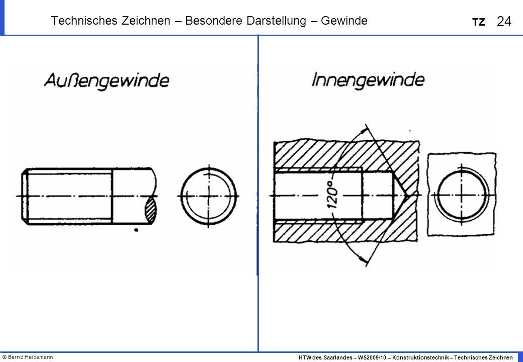 3 2 Technisches Zeichnen  Ansichten, Schnittdarstellung