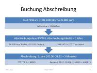 Anlagevermgen und Abschreibung - ppt video online ...