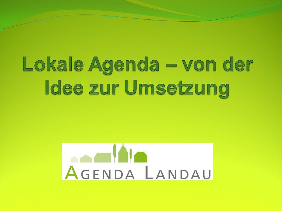 Lokale Agenda  von der Idee zur Umsetzung  ppt video online herunterladen