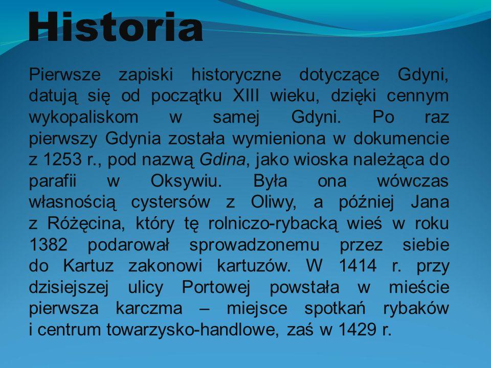 HISTORIA GDYNI  ppt pobierz