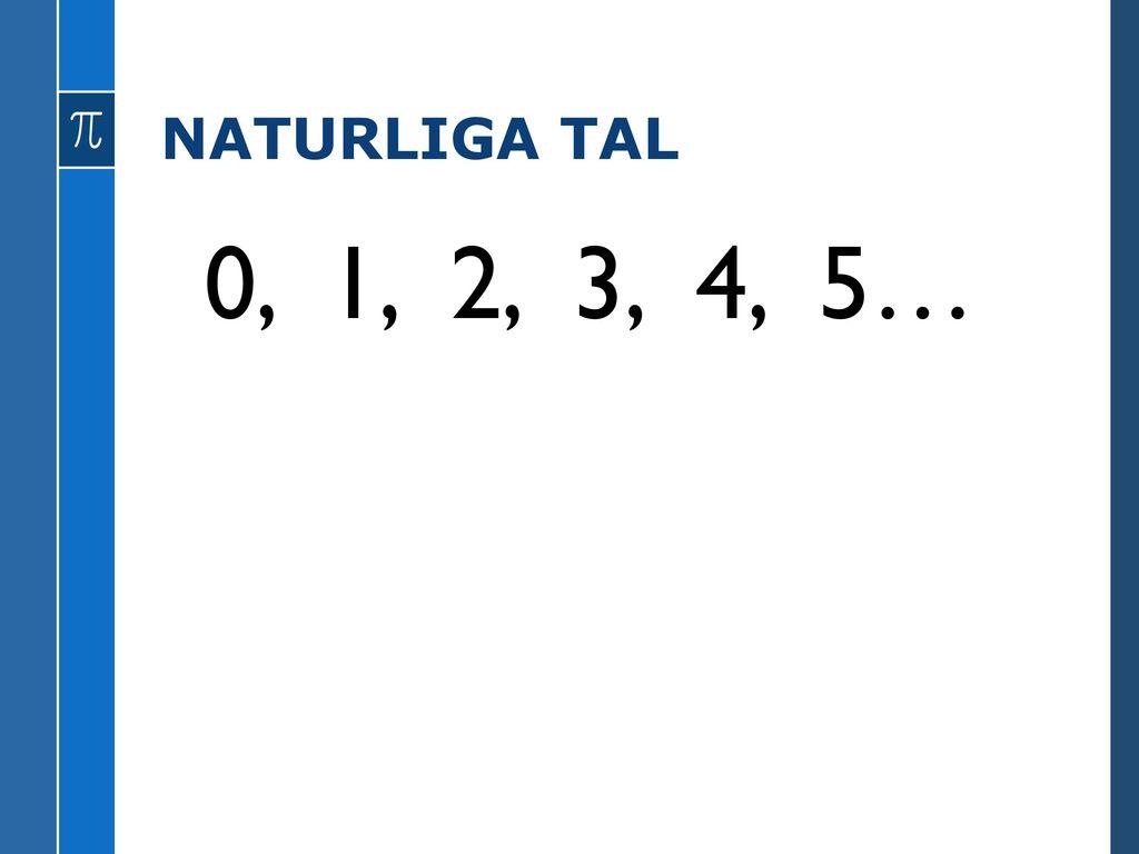 Aritmetik Om Tal