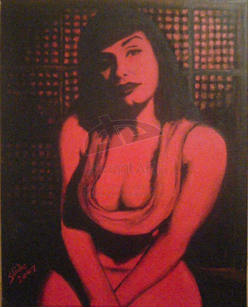 """Red Bettie, 2007"" by Ms Slide"