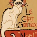 """Le Chat Grincheux, 2014"" by Ms Slide"